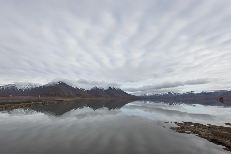 Landscape, Longyearbyen, Svalbard