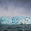 Fantastic blue iceberg near Monacobreen
