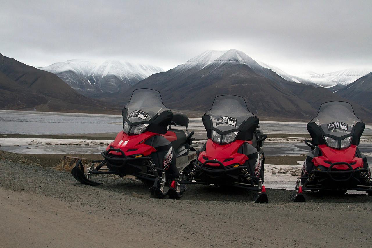 budget trip to Longyearbyen Svalbard