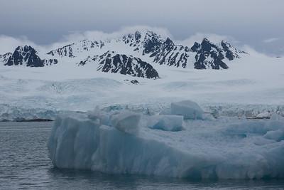 A Recent Glacier Calf