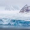 Magdalenefjorden glacier, by Ann Laubach, June 2015