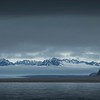 Scenic coastline of the Svalbard Islands in the Norwegian Arctic. By Scott Davis in 2014.