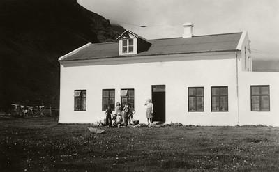 Bærinn að Þorvaldseyri.
