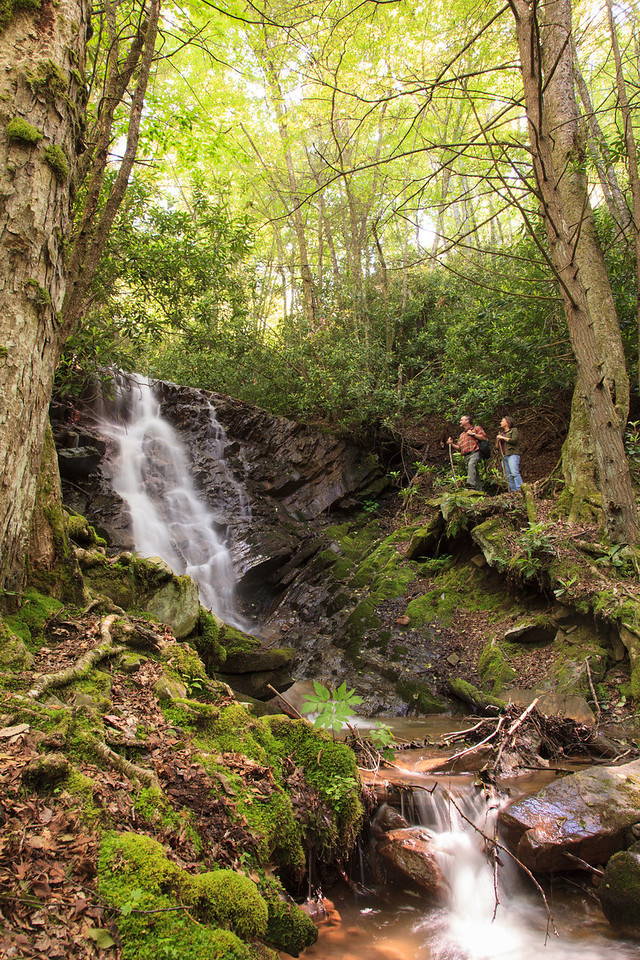 Swag Hiking Waterfall 03 X2 A Visit Back to The Swag   A Jewel in the Smoky Mountains