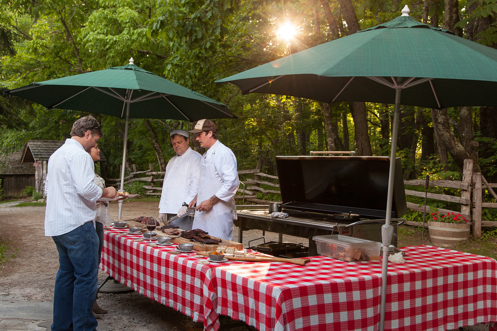 Swag Food ThursBBQ 12 XL A Visit Back to The Swag   A Jewel in the Smoky Mountains