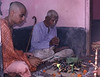 Fire Sacrifice after Diksha Initiation