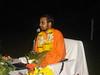 Program at the Daman Ganga Resort organized by Hema Gauranga dasa begins