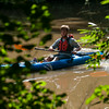 Trek guide Robert Donadieu approaches Rougarou Island while leading Boy Scout Troop 383 on their Swamp Base kayak trek in the Atchafalaya River Basin near Catahoula, LA, Tuesday, July 1, 2014. <br /> <br /> Paul Kieu, The Advertiser