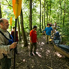 Boy Scouts of Troop 383 prepare to participate in a wilderness survival course on Rougarou Island in the Atchafalaya River Basin near Catahoula, LA, Tuesday, July 1, 2014. <br /> <br /> Paul Kieu, The Advertiser
