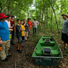 Boy Scouts of Troop 383 participate in a wilderness survival course on Rougarou Island in the Atchafalaya River Basin near Catahoula, LA, Tuesday, July 1, 2014. <br /> <br /> Paul Kieu, The Advertiser