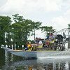 Members of Troop 383 ride on an airboat during a tour in the Atchafalaya River Basin near Henderson, LA, Tuesday, July 1, 2014. <br /> <br /> Paul Kieu, The Advertiser