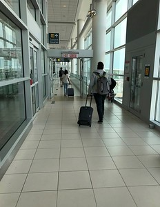 I've just landed in Winnipeg, Manitoba, Canada.