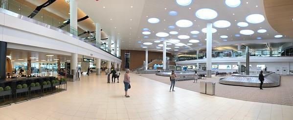 They've got a nice new terminal in Winnipeg.