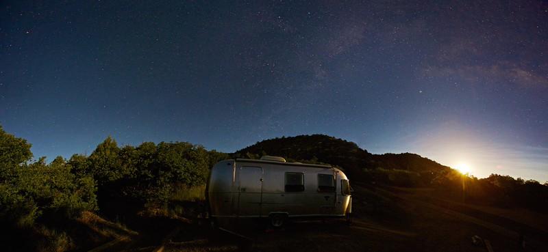 Mesa Verde Moonlit Airstream