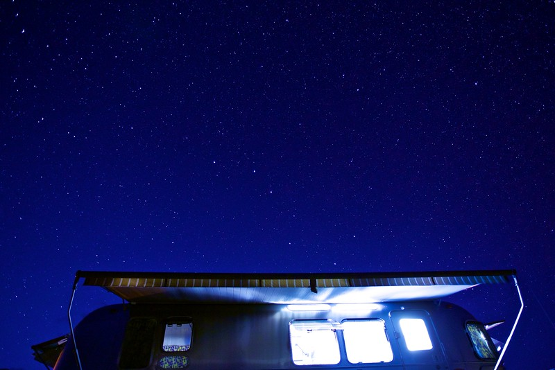 Badland Stars over Annie