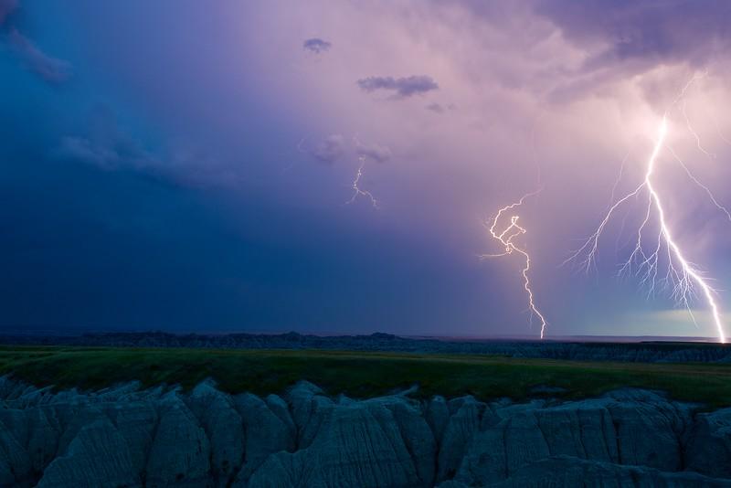 Lightning in the Badlands