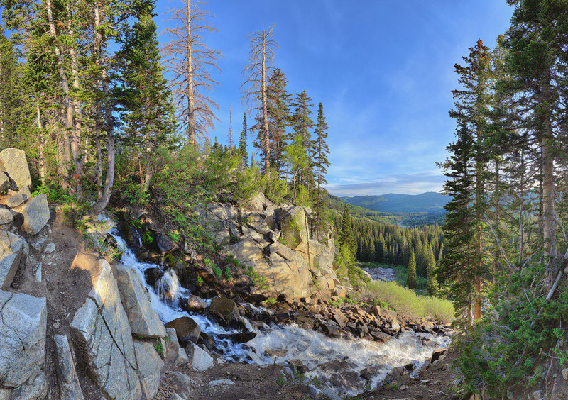 Brighton Falls, Big Cottonwood Canyon, UT