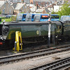 34070 'Manston' at Swanage