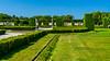 The gardens of Drottningholm Palace near Stockholm, Sweden.
