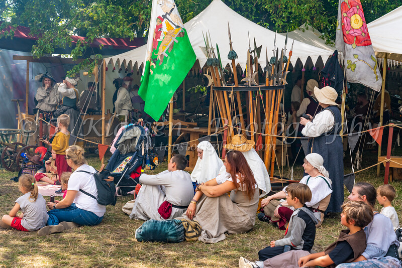Medieval Week celebrations in the Hanseatic town of Visby, Gotland, Sweden.