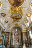 An interior view of the Chapel at the Royal Palace in Stockholm, Sweden.