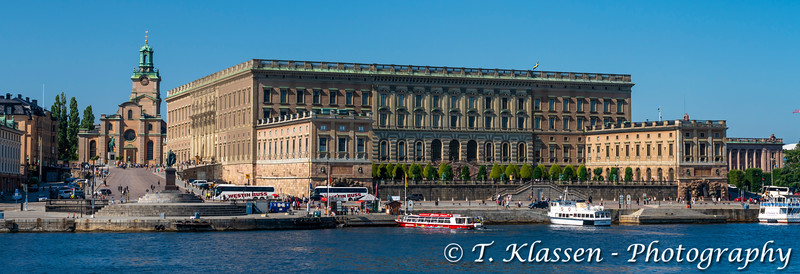 at the Royalk Palace and Museum in Stockholm, Sweden.
