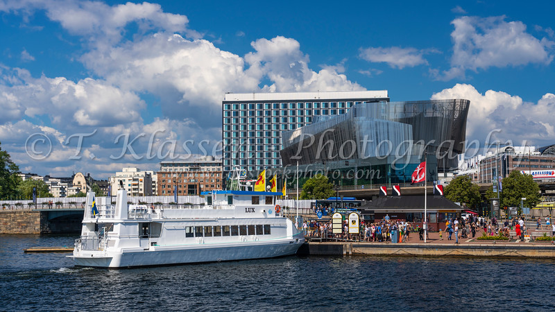 The waterfront Congress Center in Stockholm, Sweden.