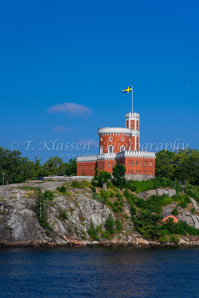 A small citadel or Kastellet near Stockholm, Sweden.