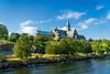 A large church near Stockholm, Sweden.