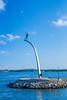 A statue by Carl Milles at Nacka Strand, Stockholm, Sweden.