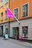 Shops and stores in Stockholm, Sweden.