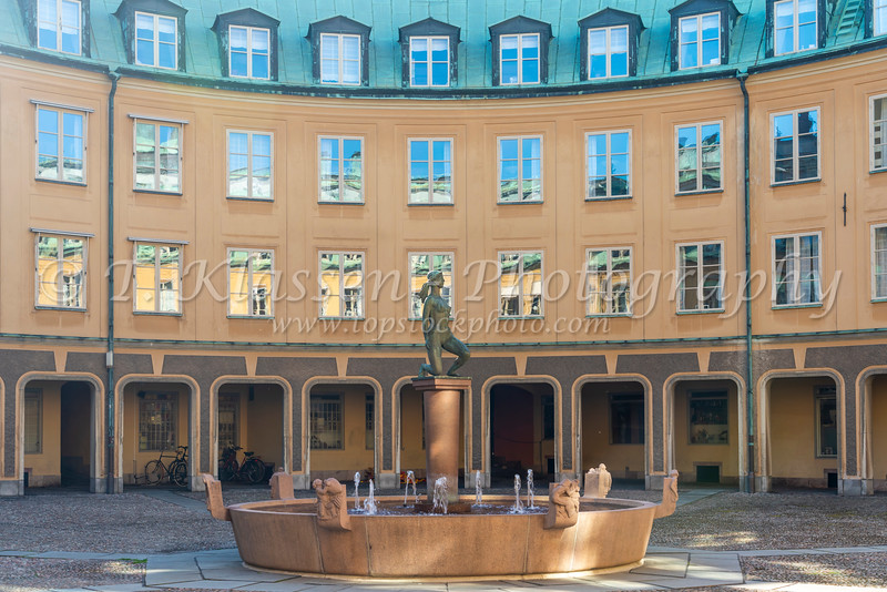 The House of Nobility in Stockholm, Sweden.