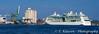 A cruise ship docked at Stockholm, Sweden.