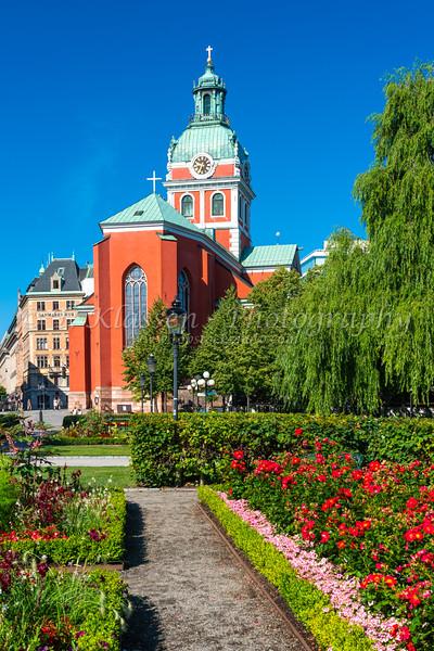 St Jsacobs Church in Stockholm, Sweden.
