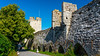 The city wall of Visby, Gotland, Sweden.