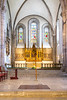 An interior view of the Visby Cathedral in Visby, Gotland, Sweden.