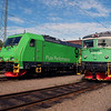 Re 1430 & Rc4 1267 at Eskilstuna Depot on 15th June 2014