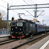 Rc6 1368 (91 74 1061 368-6 S-SJ) at Eskilstuna Central on 23rd October 2017 (2)