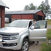 Per..we are going for a ride in his new VW truck... Amarok model, not sold in USA.