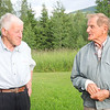 Gunnar on left, is Rigmor's husband. Lennart is Gunnel's husband.