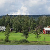 """This photo is from our 2012 trip..I never did have time to row out on Lake Brocken this time to take a photo like this. The name of the farm...""""Sörmehea""""...means, south of the meadow. Most homes have names actually in this region of Sweden."""