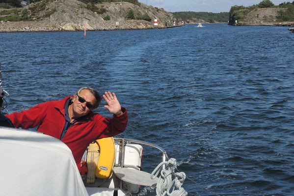 Sailing around Orust Island. Day 3
