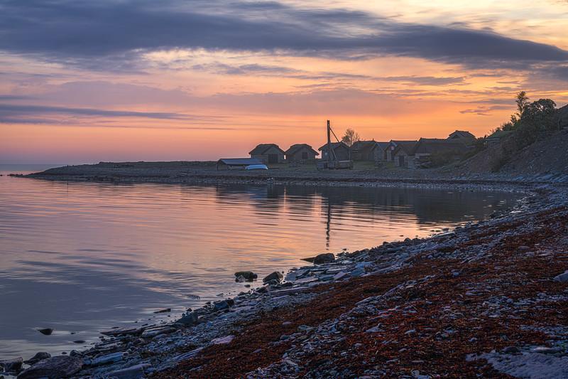 Bruddesta Fishing Village, Öland, Baltic Sea, Sweden
