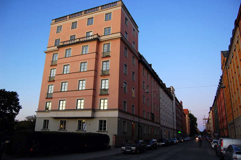 Our building in Södermalm