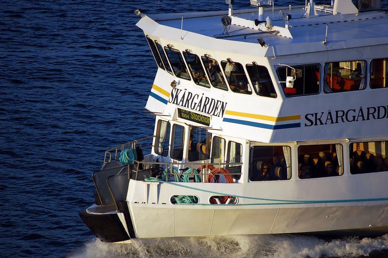 Water taxi Djurgårdsfärjan is in central Stockholm and runs between Slussen and Djurgården. The SL public transportation card is valid for the trip.