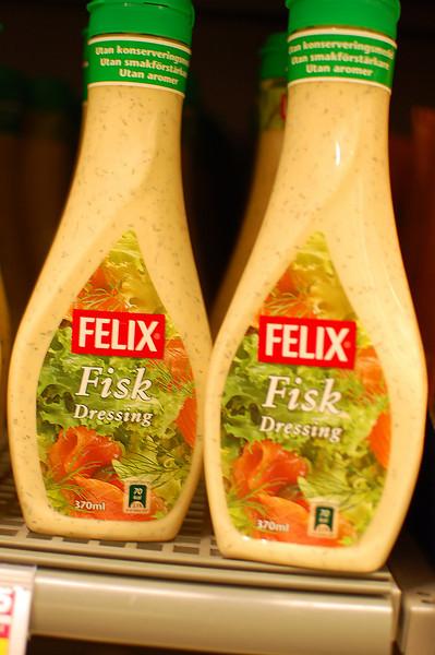 """Fish"" salad dressing..."