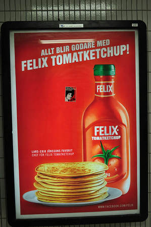 """Everything is better with Ketchup."" The Swedes eat more Ketchup per captia than anywhere else in the world."