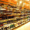 The beer aisle. All beer is sold individually- no 6, 12, 18, 24... you get the idea. It's also warm. You cannot buy cold beer anywhere in the country of Sweden(outside a bar obliviously).