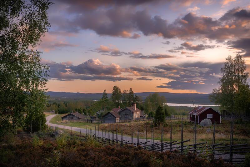 Summer Farm Grejsan, Dalecarlia,  Sweden