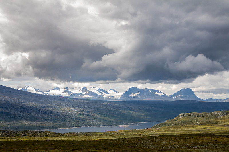 Sarek mountains and Akkajaure